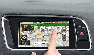 Q5 Navigation X701D-Q5 mit Touch Monitor