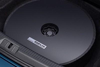 helix vw soundsystem reserverradmulden subwoofer. Black Bedroom Furniture Sets. Home Design Ideas