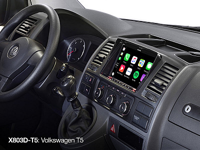 X801D-T5 VW T5 Navigationssystem mit 8 Zoll Touch Display